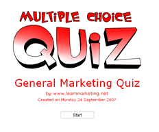 quiz on markeing manament Marketing management, canadian fourteenth edition  access chapter objectives, concept check quizzes, and concept challenge quizzes (chapter quizzes.